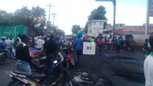 Nouvelle journée de manifestation dans la ville des cayes (Sud) 1