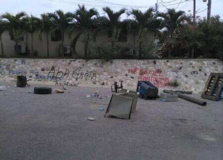 Pétion-Ville (Ouest) : protestation à Montagne noire contre le kidnapping de plusieurs personnes