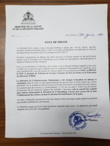 Lucmane Délile répond au Protecteur du citoyen et tente de dédouaner l'Exécutif de la libération de criminels