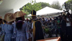 """Port-au-Prince :  Funérailles mystiques de """"Konpè Filo"""" au kiosque Oxyde Jeanty"""