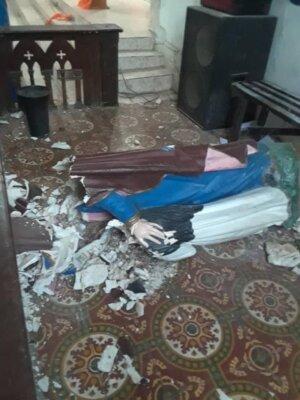 Limonade (Nord) : la paroisse Sainte-Anne vandalisée par des individus