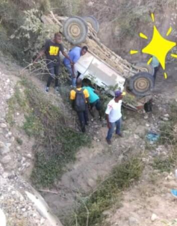 Circulation : 2 policiers de la garde présidentielle meurent dans un accident à Gros-morne