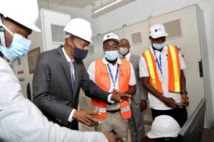 Inauguration du Projet de renforcement de la production d'eau potable dans la région métropolitaine