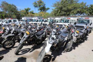 30 automobiles et une centaine de motocyclettes remis à la Police nationale d'Haïti