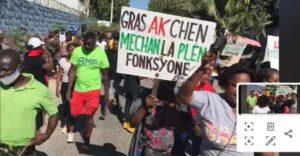 Tabarre (Ouest) : protestation contre un avis de recherche émis contre un chef de gang à croix-des-missions