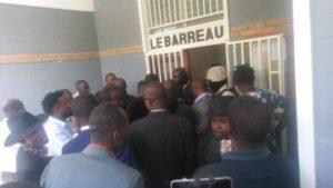 Petit-Goâve (Ouest) : les portes du palais de justice fermées pour dénoncer le kidnapping de Me Abbias Edumé