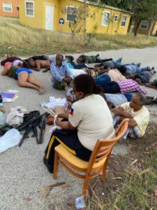 Une vingtaine de personnes dont le juge Yvikel Dabrézil et l'inspectrice générale Marie Louise Gauthier arrêtés