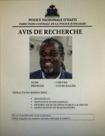 L'ancien maire de Port-au-Prince, Ralph Youry Chevry appréhendé en territoire dominicain