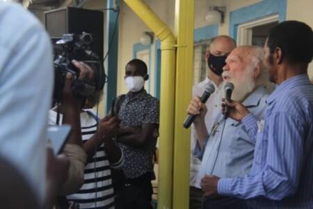 Journée internationale de la francophonie : l'écrivain haïtien Frankétienne honoré par l'Institut français d'Haïti