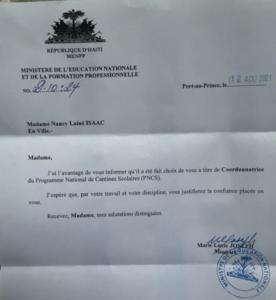 Administration : la journaliste Nancy Laîné et l'infirmière Djina Délatour à couteaux tirés pour le contrôle du PNCS