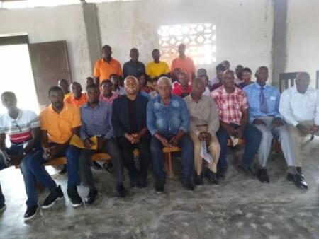 De Petite rivière de Nippes à Pestel, le sénateur Patrice Dumont a manifesté sa solidarité aux professeurs